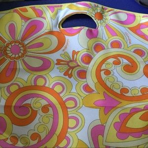 Clinique Bright Flower Beach Tote NWOT